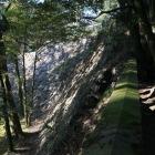 本丸南西の高石垣