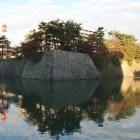 水堀越しの巽櫓台