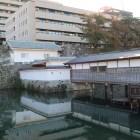 復元された御廊下橋と山里口御門