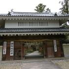 油山寺にある掛川城移築門