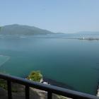 月見御殿跡から見る日本海