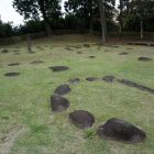 護摩堂跡の礎石