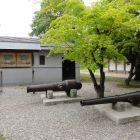 大砲の展示