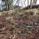 本丸下帯曲輪上段石垣