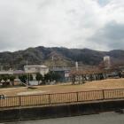 飯盛山城遠景