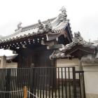 妙徳寺表門(脇門・阪神淡路大震災までは現存)