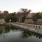 内下馬橋から大手門跡を見る