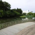 南郷公園の水堀