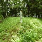 森林ゾーンにある馬出跡