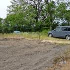 田畑の奥に駐車スペース(当時キューブに乗ってた)