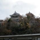福知山城遠望