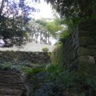 搦め手側の登城道