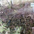 堀切の石垣
