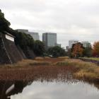 西桔橋から見た蓮池堀