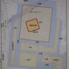 御館跡平面図