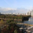 ミッドタウン日比谷から見た江戸城