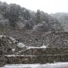 雪の伝羽柴秀吉邸跡