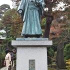 土方 歳三さんの像