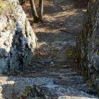 本丸入口石段