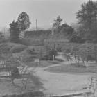 ⑤表鉄門上より天守台を望む、昭和56年撮影