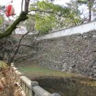 八坂神社参道から見る石垣