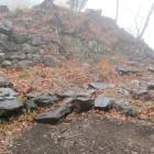 東腰曲輪と集水桝