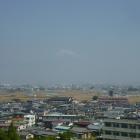 主郭から見えた富士山