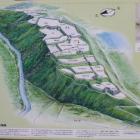 三戸城縄張図