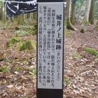 城井ノ上城跡の説明