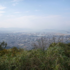 本城跡から博多津の眺め