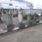 殉死した四義士の墓