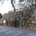 西ノ口門跡の石垣