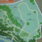 深大寺城跡地図