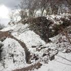 山上ノ丸冬景色。