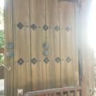 旧切手門。門扉がぶ厚い!