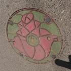 薔薇マンホール