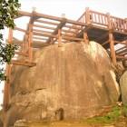 天守跡の巨石