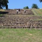 多賀城政庁跡へ続く石段