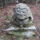 猿石。思ってたより大きくてびっくり