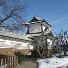 石川櫓を三の丸側から