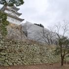 坤櫓と巽櫓。明石城のシンボル!石垣の高さがハンパない!