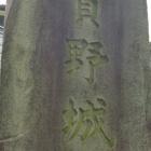 城碑(真後ろは民家)
