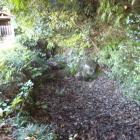 千貫井戸と堀