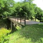 本丸追手門にかかる橋と堀