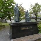 細川忠興・ガラシャ像