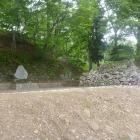 猪苗代城虎口の石垣