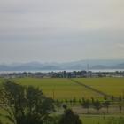 鶴峰城から見た南の猪苗代湖