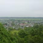 城山から北東の景色