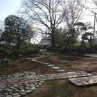 本丸御殿の中の日本庭園
