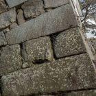 東鉄門(模擬丑寅櫓下)石垣